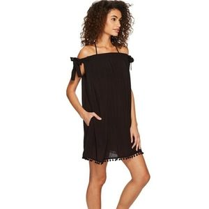 Bleu Rod Beattie Gypset Off Shoulder Dress Cover